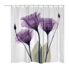 Gentian Hope Shower Curtain