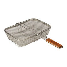 Bull Outdoor Products - Wire Mesh Shaker Basket With Lid - Grill Tools & Accessories