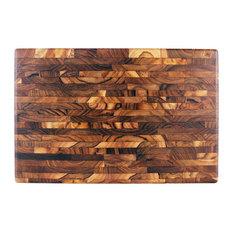 Island Teak Wood Chopping Board, Rectangular, Large