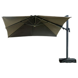 Contemporary Outdoor Umbrellas by International Home Miami Corp