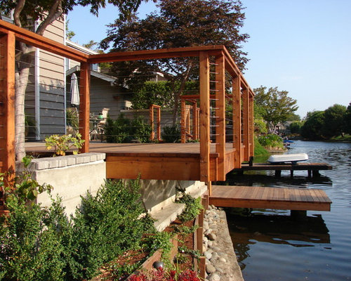 Best Wooden Boat Docks Design Ideas & Remodel Pictures | Houzz