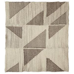 Handmade Large Streathan Wool Blanket by The Good Shepherd