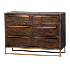 Le�n Six Drawer Dresser Toasted Cocoa