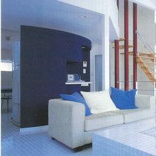 雑誌「ニューハウス」掲載記事を紹介!  湘南のカフェのような白色タイル貼りの家( 茅ヶ崎の家)