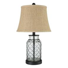 Hillside Table Lamp in Brown