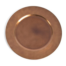 Classic Design Charger Plate, Set of 4, Copper
