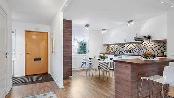 Lägenhetsrenovering i Gribbylund, Täby