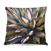 "Sunstruck Yucca Plant Outdoor Pillow, 16""x16"""