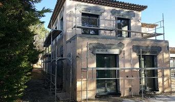 rénovation façade établissement scolaire