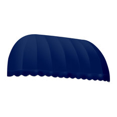 """8' Chicago Window/Entry Awning, 31"""" Hx24"""" D, Navy"""
