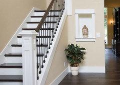 D coration entr e changement y apporter - Peindre des marches d escalier en bois ...
