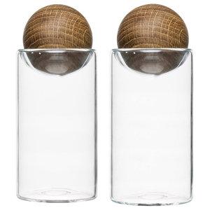 Sagaform Oval Oak Salt and Pepper Set