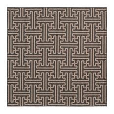 """Alfresco Area Rug, 7'3"""" Square"""