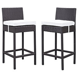 Spectacular Tropical Outdoor Bar Stools And Counter Stools by MODTEMPO LLC