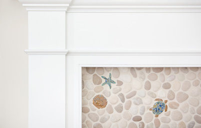 Double Take: Is That a Little Blue Crab Crawling up the Fireplace?