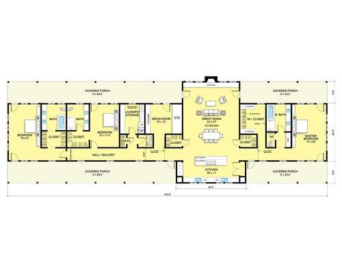 Ranch House Plan 888 6 By Nicholas Lee