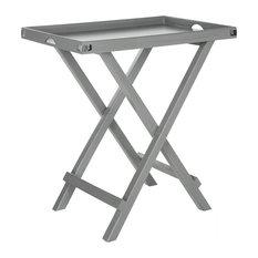 Safavieh Belvedere Tray Table, Gray