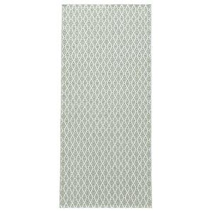 Eye Woven Vinyl Floor Cloth, Green, 150x200 cm