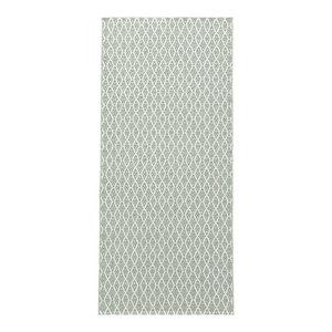 Eye Woven Vinyl Floor Cloth, Green, 150x250 cm