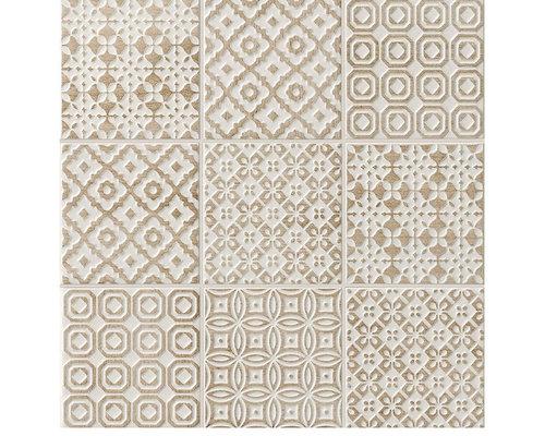 Batik Deco Tortora - Wall & Floor Tiles