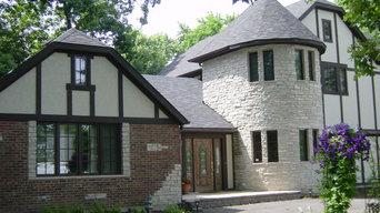 English Tudor 5 Bdrm Custom Home