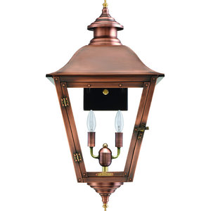 Savannah Copper Latern Traditional Outdoor Wall Lights And Sconces By Primo Gas Lanterns Houzz