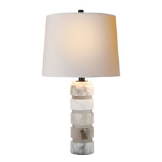 traditional table lamps with a dimmer switch houzz. Black Bedroom Furniture Sets. Home Design Ideas