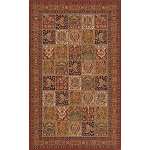 Persian Garden Rectangle Traditional Rug5'x8'