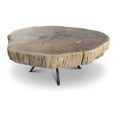 Lastra Natural Light Nesting Table by Urbia