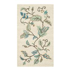 Martha Stewart Autumn Woods Rug, Colonial Blue, 8'x10'