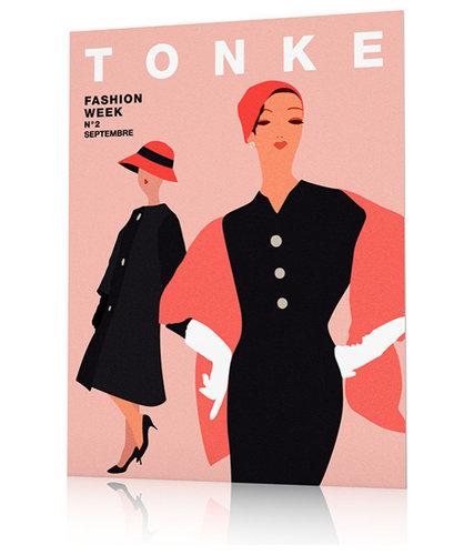 Poster vintage mode - Imprimé et Poster