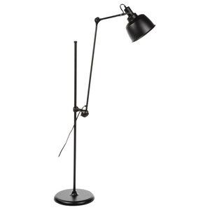Eduardo Floor Lamp, Matt Black
