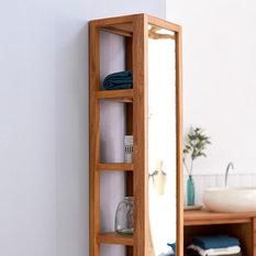 Placards et tag res de salle de bain - Placard miroir salle de bain ...