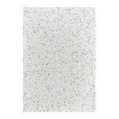 Monaco Bathroom Worktop, White Sparkle