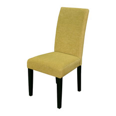 Aprilia Pear Upholstered Dining Chairs Set Of 2