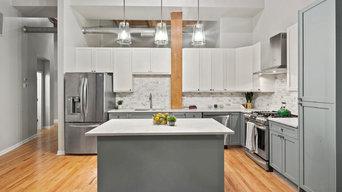Transitional Kitchen & Bathroom
