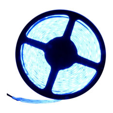5050 Blue Super Bright LED Strip Light 16' Reel 150 LED Kit
