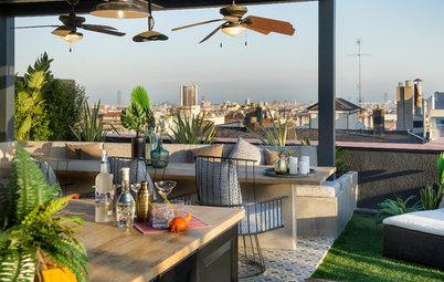 Una terraza en Barcelona con todo lo que uno pueda imaginarse