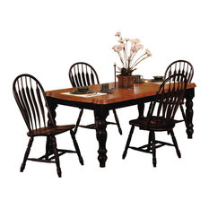 Sunset Trading 5 Piece Extendable Dining Set