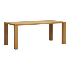 Natural Dining Table Dining Table, Oak, Large