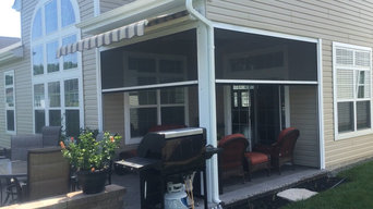 Retractable Sceens and Awning