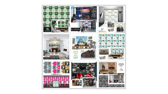 Feature and Commercial Wall Paper Proto types