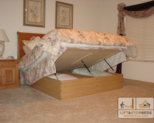 Platform Lift Storage Bed