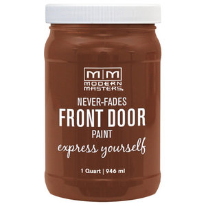 Modern Masters Front Door Paint Satin, Comfortable, 1 Qt.