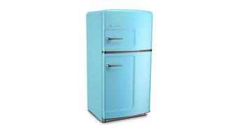 Retro Refrigerator, Beach Blue
