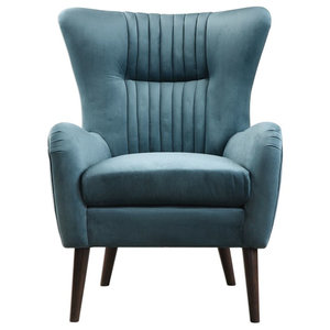 Miraculous Kay Leather Arm Chair Emerald Midcentury Armchairs And Ocoug Best Dining Table And Chair Ideas Images Ocougorg