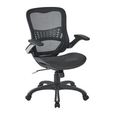 Residence - Taskforce Desk Chair, Black - Office Chairs