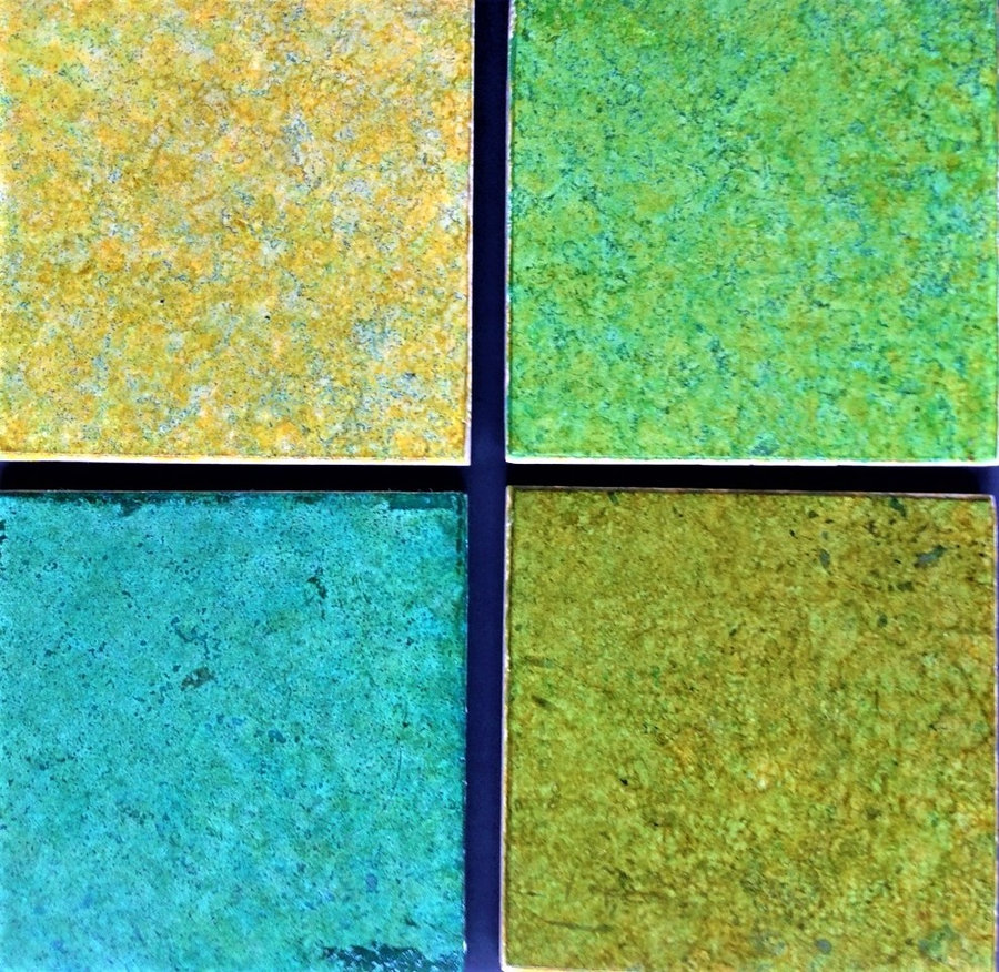 """Travertine Marble Tiles - """"Spring Collection""""- custom colors for the Kitchen and"""