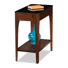 Lovely Leick Home   Obsidian Narrow Chairside Table   Side Tables And End Tables