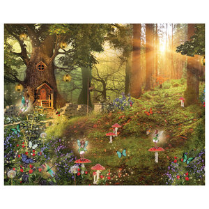 Away Wood Fairy Wall Mural, Extra Large